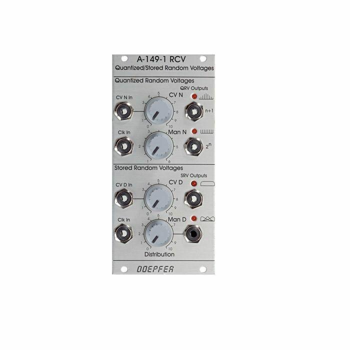 DOEPFER - Doepfer A-149-1 Quantized Stored Random Voltages Module