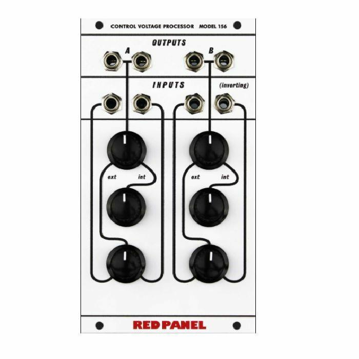RED PANEL/BUCHLA - Red Panel/Buchla Model 156 Dual Channel CV Processor Module