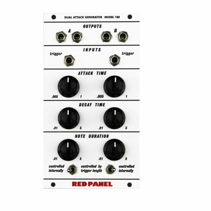 RED PANEL/BUCHLA - Red Panel/Buchla Model 180 Dual Attack Generator Module