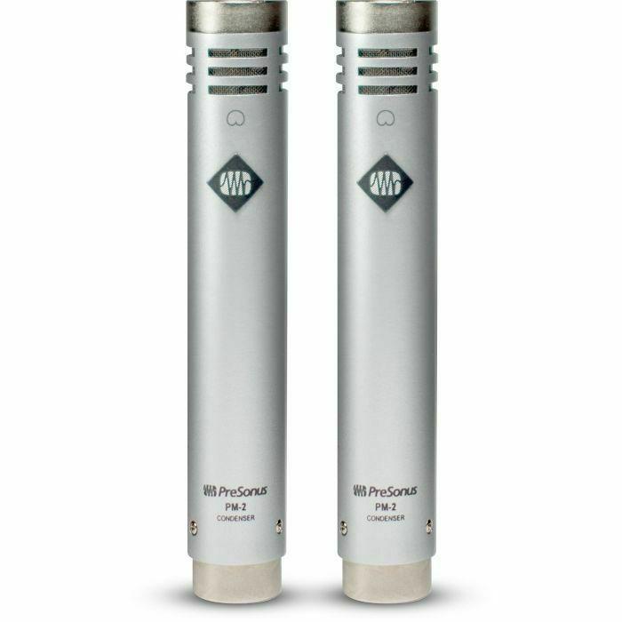 PRESONUS - Presonus PM2 Small Diaphragm Cardioid Condenser Microphone Matched Stereo Pair