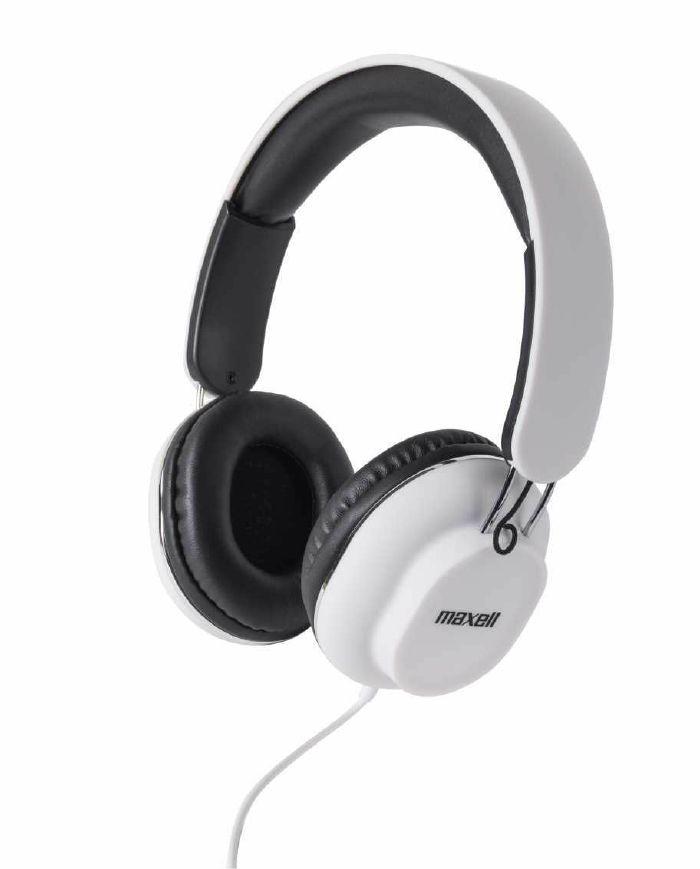 MAXELL - Maxell Classics Headphones With Mic For Hands Free Calling (white)