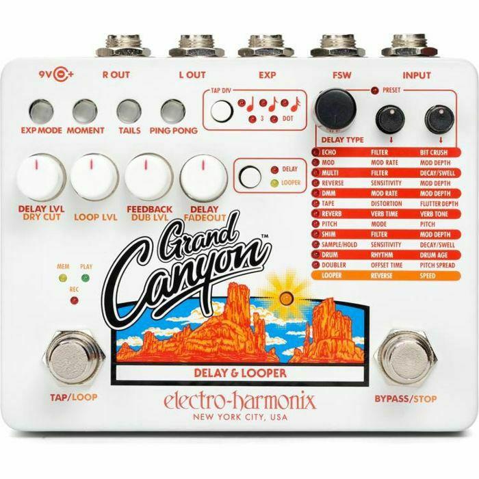 ELECTRO HARMONIX - Electro Harmonix Grand Canyon Delay & Looper Pedal (B-STOCK)