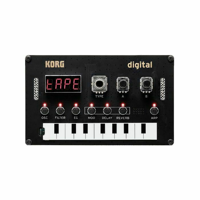 KORG - Korg Nu:Tekt NTS1 Programmable Digital DIY Synthesiser Kit (no soldering required)