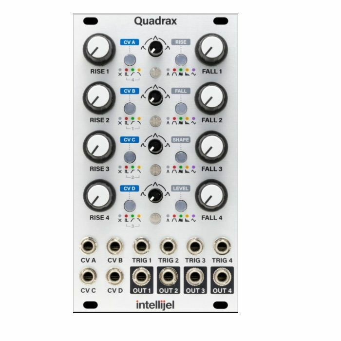 INTELLIJEL - Intellijel Quadrax 4 Channel CV Controllable Function Generator Module