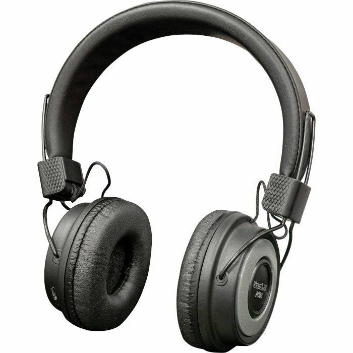 SOUND LAB - Sound LAB Wireless Bluetooth On Ear Headphones (black & silver)
