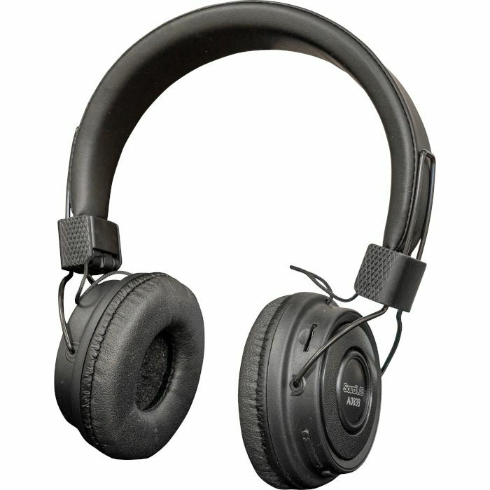 SOUND LAB - Sound LAB Wireless Bluetooth On Ear Headphones (black)