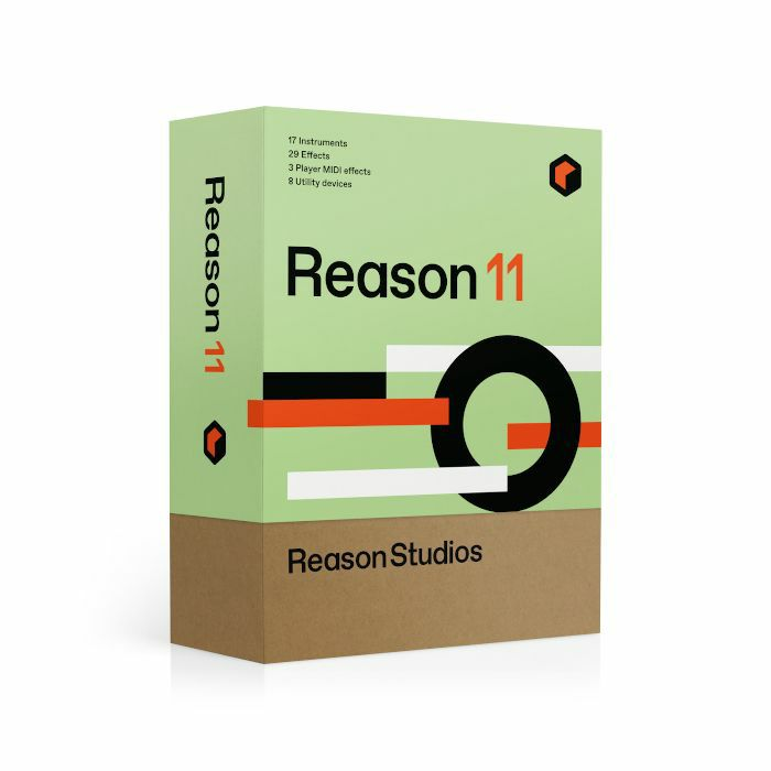 PROPELLERHEAD - Propellerhead Reason 11 Music Production Software (full retail boxed version)