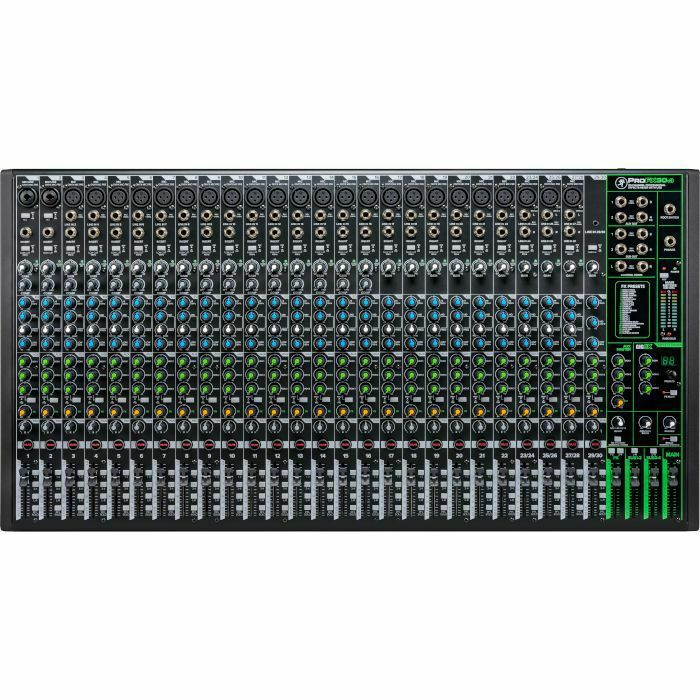 MACKIE - Mackie Pro FX30 v3 Mixer With Built In Effects, USB Recording Interface & Software Bundle