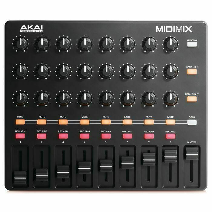 AKAI - Akai MIDI Mix USB Mixer Controller With Ableton Live Lite Software (B-STOCK)