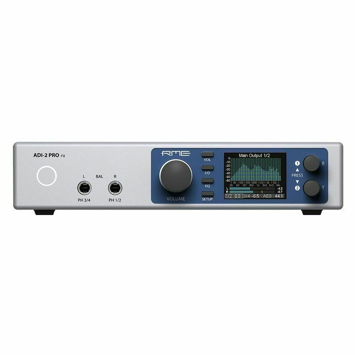 RME - RME ADI2 Pro FS AD/DA Converter DAC Audio Interface & Headphone Amplifier (B-STOCK)