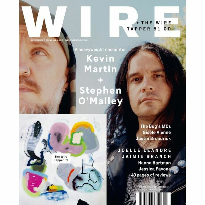 WIRE MAGAZINE - Wire Magazine: November 2019 Issue #429 + The Wire Tapper 51 Unmixed CD