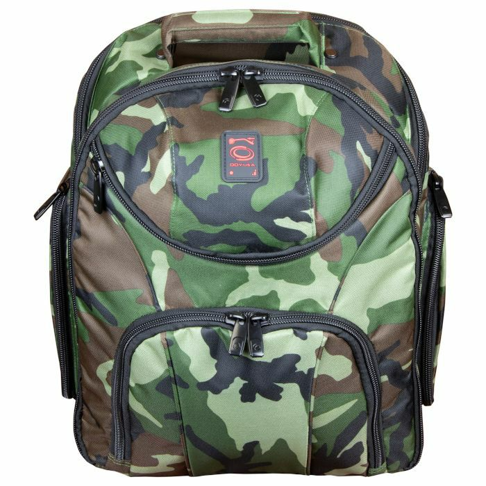 ODYSSEY - Odyssey Backspin MK2 DJ Equipment Backpack For Controller + Laptop + Accessories (green camo)