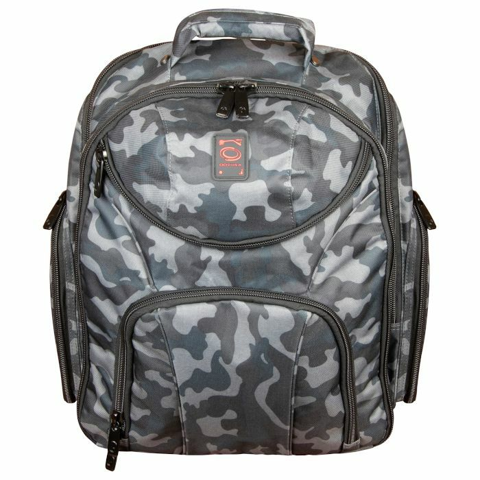 ODYSSEY - Odyssey Backspin MK2 DJ Equipment Backpack For Controller + Laptop + Accessories (grey camo)