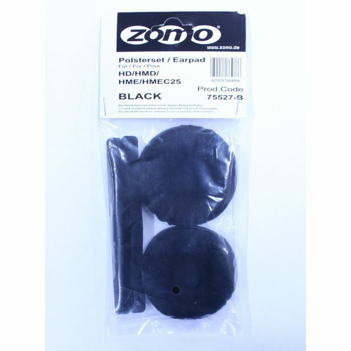 ZOMO - Zomo Replacement Velour Earpad Set For Sennheiser HD25 Headphones (black)