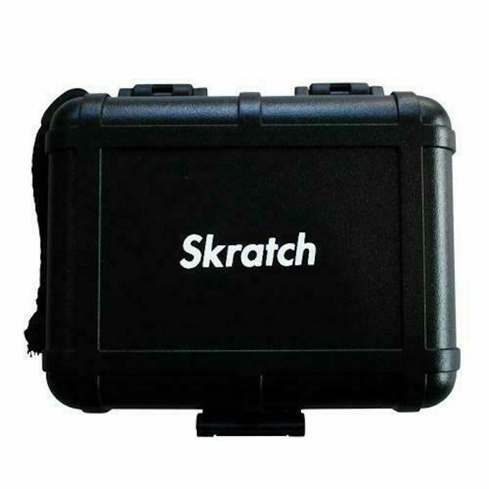 DR SUZUKI - Stokyo Black Box DJ Turntable Cartridge Case (black, Skratch Edition)