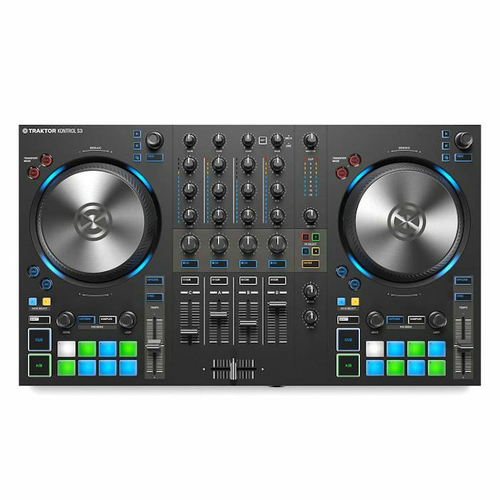 NATIVE INSTRUMENTS - Native Instruments Traktor Kontrol S3 DJ Controller With Traktor Pro 3 Software