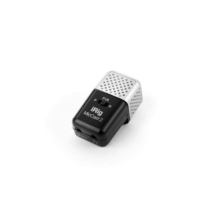 IK MULTIMEDIA - IK Multimedia iRig Mic Cast 2 Microphone For iOS & Android Devices