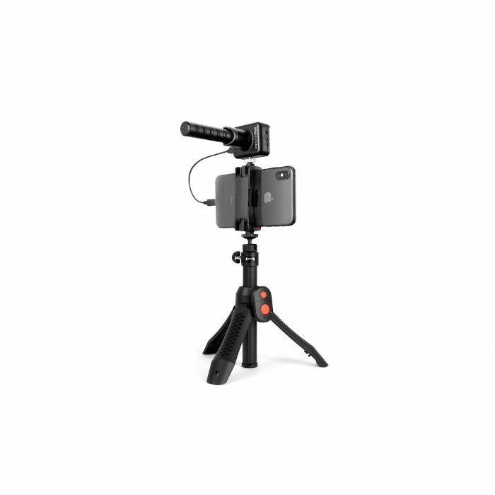 IK MULTIMEDIA - IK Multimedia iRig Mic Video Bundle (includes iRig Mic Video & iKlip Grip Pro)