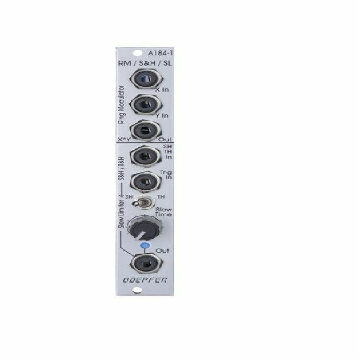 DOEPFER - Doepfer A-184-1 Ring Modulator, Sample & Hold, Track & Hold, & Slew Limiter Module