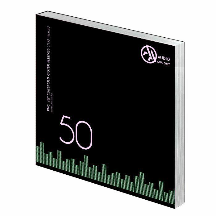 AUDIO ANATOMY - Audio Anatomy 100 Micron PVC Gatefold 12