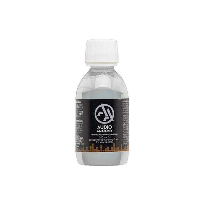 AUDIO ANATOMY - Audio Anatomy Concentrated Vinyl Record Cleaning Fluid (200ml)