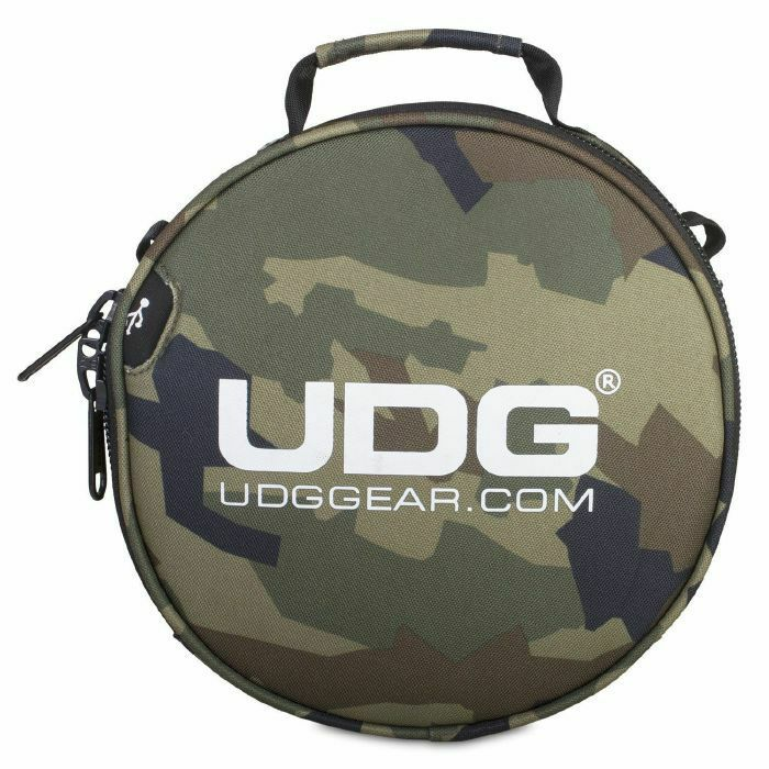 UDG - UDG Ultimate Digi Headphone Bag (black camo/orange)