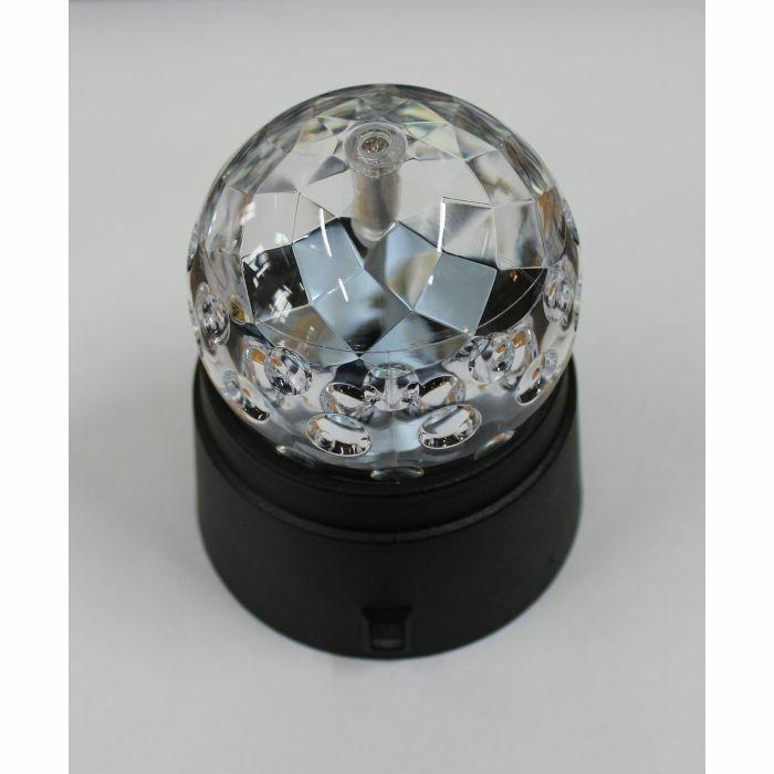 CHEETAH - Cheetah LED Crystal Disco Ball With Built In Rotator