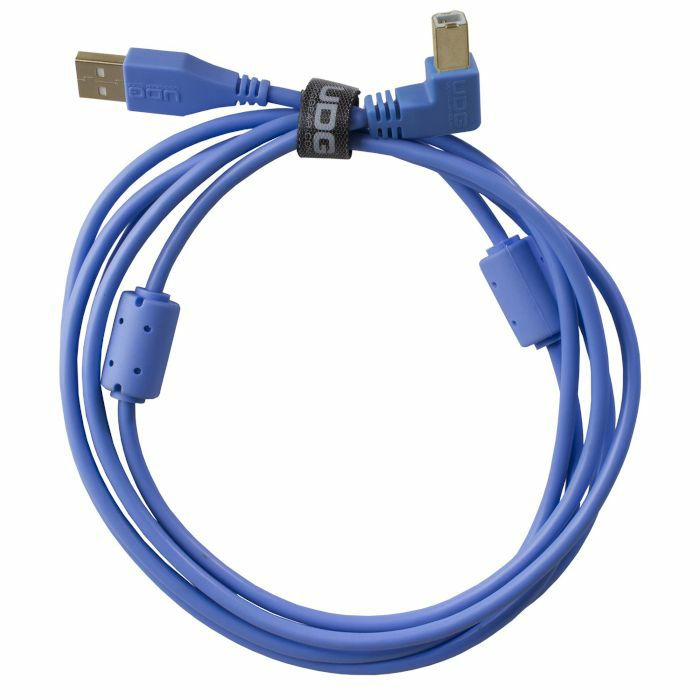 UDG - UDG Ultimate Angled USB 2.0 A-B Audio Cable (blue, 2.0m)