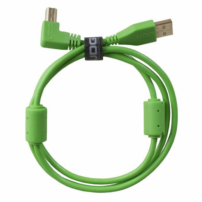 UDG - UDG Ultimate Angled USB 2.0 A-B Audio Cable (green, 1.0m)