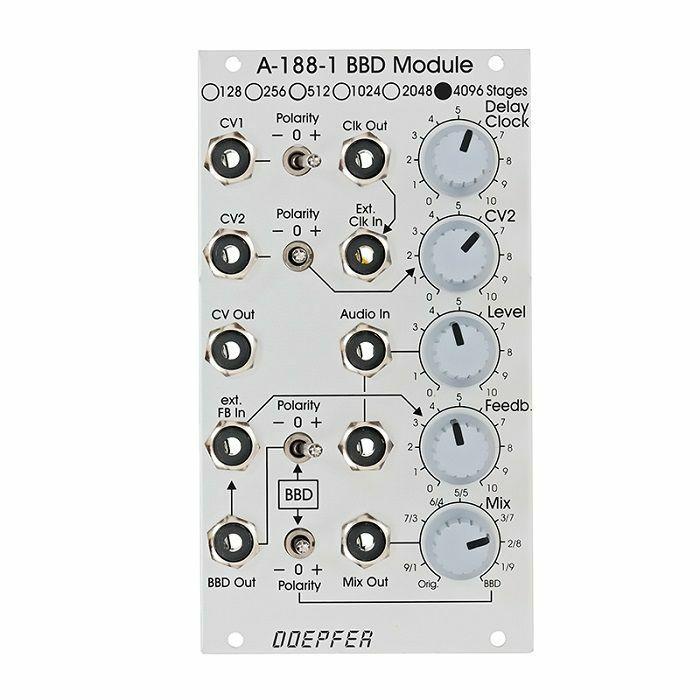 DOEPFER - Doepfer A-188-1D 4096 Stages BBD Delay Module