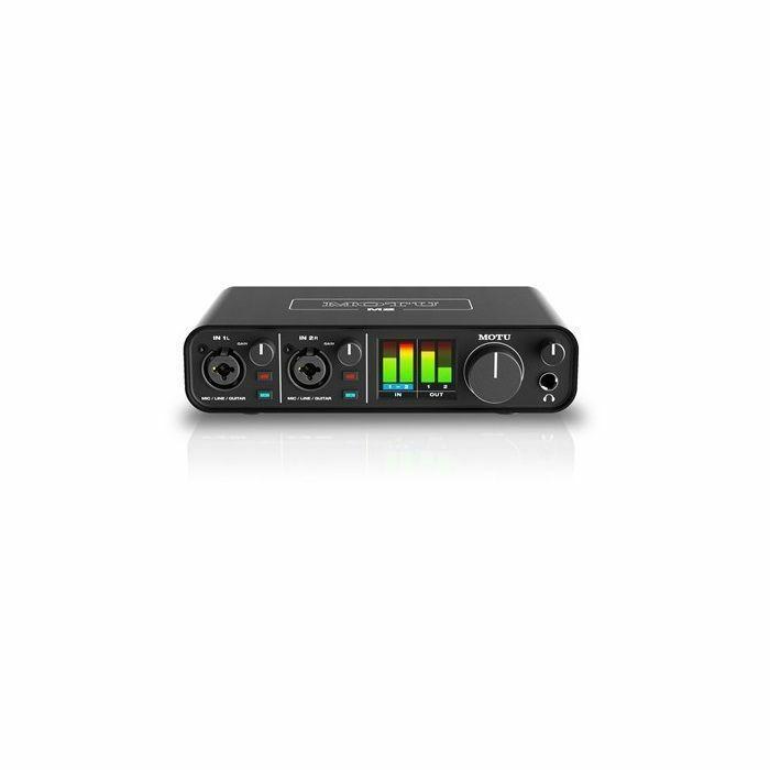 MOTU - MOTU M2 USB C 2x2 Audio & MIDI Interface