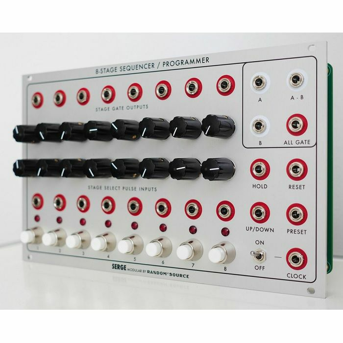 SERGE MODULAR - Serge Modular 8-Stage Sequencer & Programmer Special Edition Module With 4U Pushbuttons