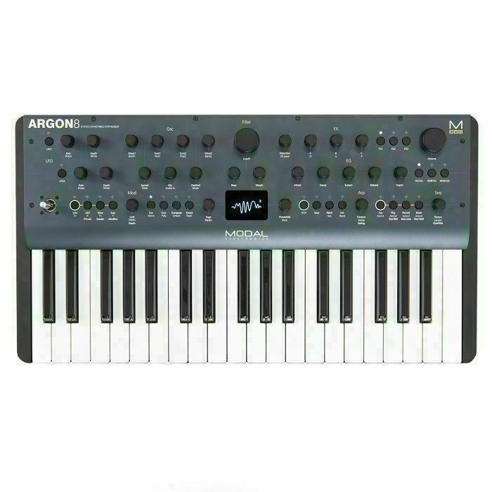 MODAL ELECTRONICS - Modal Electronics ARGON8 8 Voice 37 Key Polyphonic Wavetable Keyboard Synthesiser