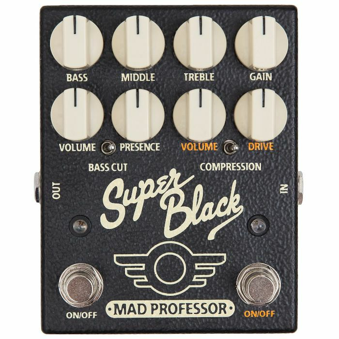 MAD PROFESSOR - Mad Professor Super Black Preamp & Overdrive Pedal