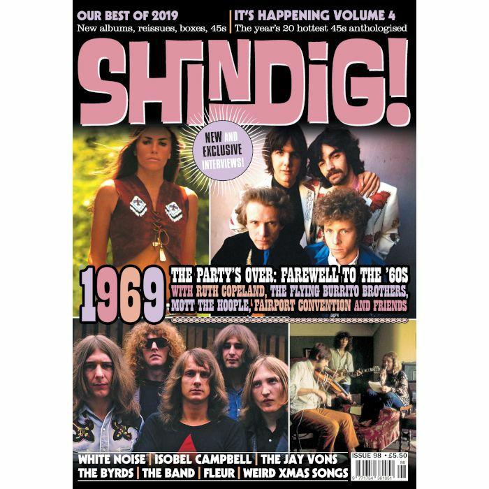 SHINDIG! MAGAZINE - Shindig! Issue 98