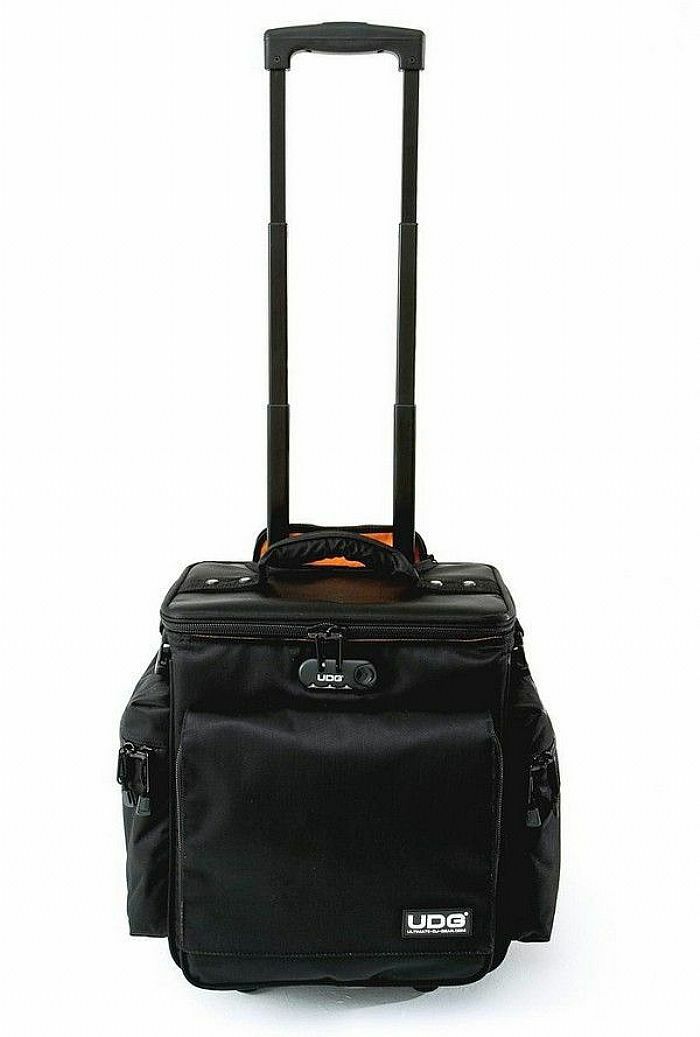 UDG - UDG Slingbag Vinyl Record & CD Trolley Deluxe (black, orange) (B-STOCK)