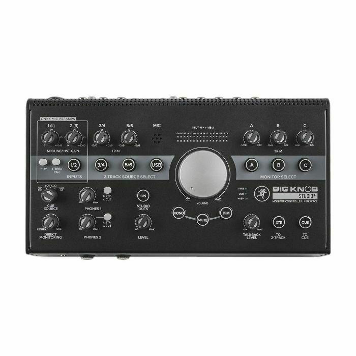 MACKIE - Mackie Big Knob Studio+ Monitor Controller & USB Audio Interface (B-STOCK)