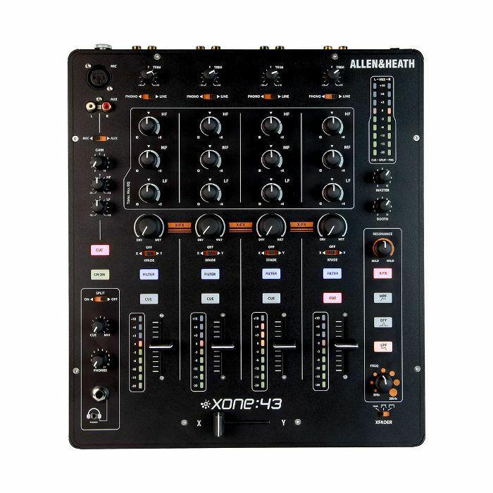 ALLEN & HEATH - Allen & Heath Xone 43 4 Channel Analog DJ Mixer (B-STOCK)