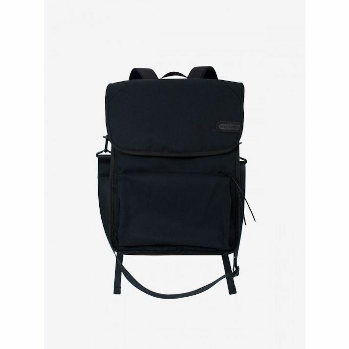 AIRBAG CRAFTWORKS - Airbag Craftworks Gunnar Cotton Black Record Bag Backpack
