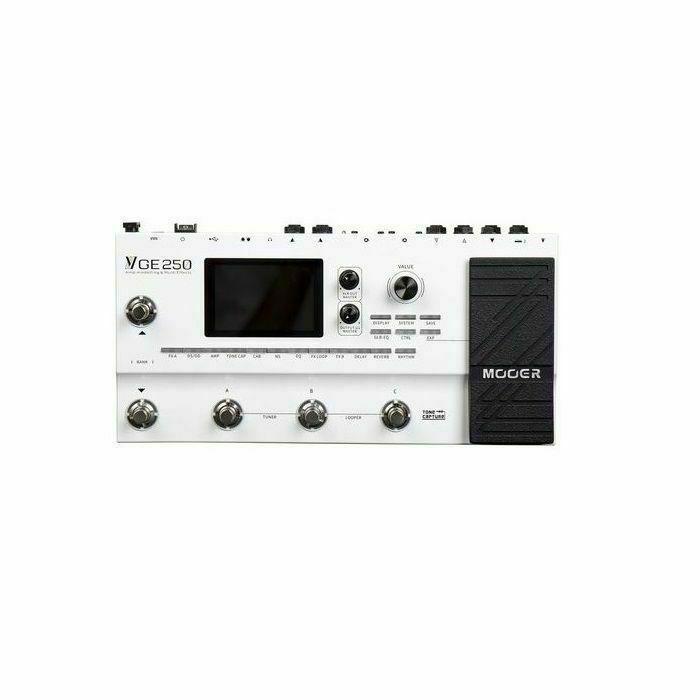 MOOER - Mooer GE250 Amp Modelling & Multi Effects Pedal