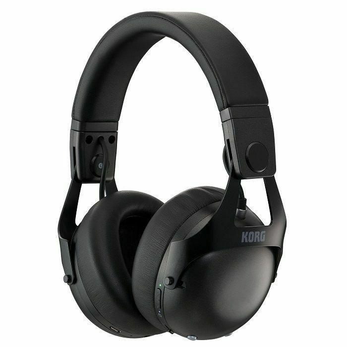 KORG - Korg NCQ1 Smart Noise Cancelling DJ Headphones (black)