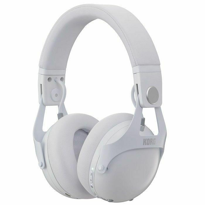 KORG - Korg NCQ1 Smart Noise Cancelling DJ Headphones (white)