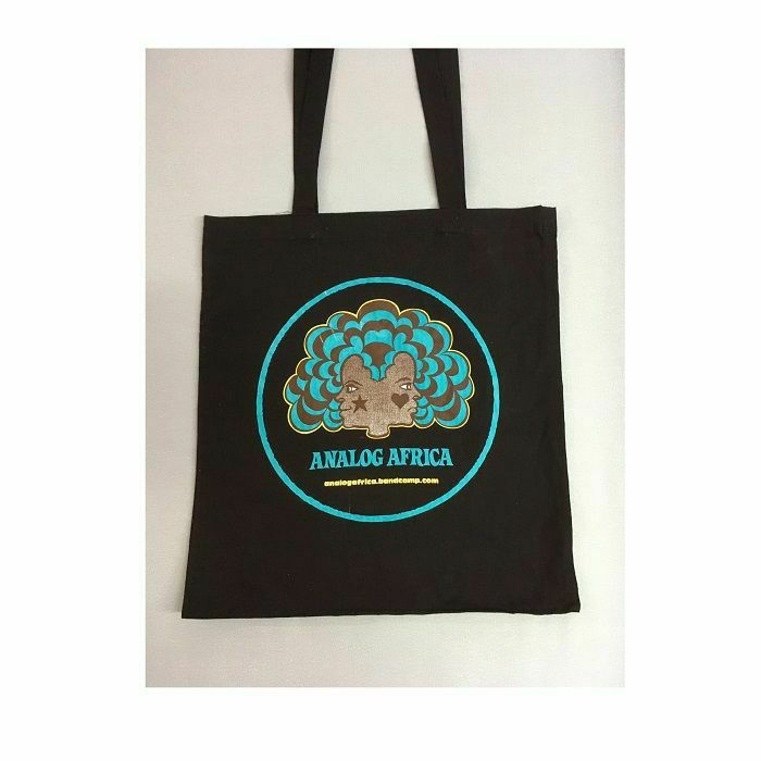 ANALOG AFRICA - Analog Africa Black Tote Bag