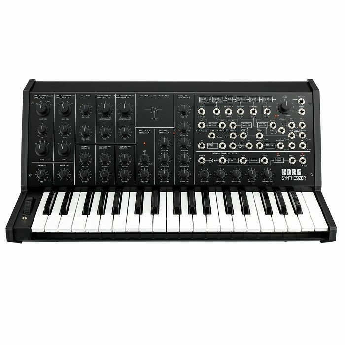 KORG - Korg MS20 Monophonic Analogue Synthesiser (black)