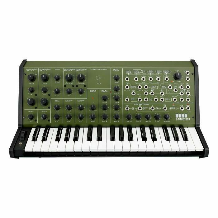 KORG - Korg MS20 Monophonic Analogue Synthesiser (military green)