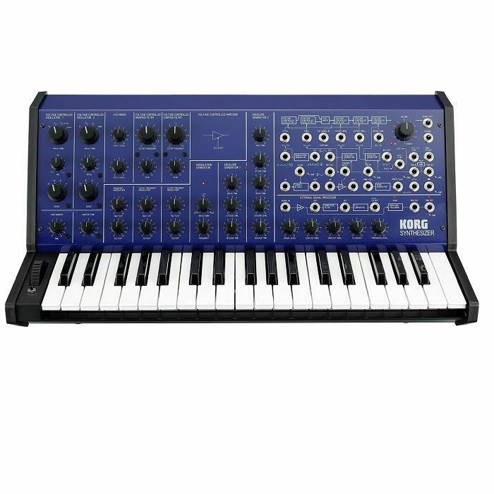 KORG - Korg MS-20 FS Blue Limited Edition Monophonic Analogue Synthesiser
