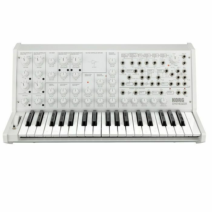 KORG - Korg MS-20 FS White Limited Edition Monophonic Analogue Synthesiser