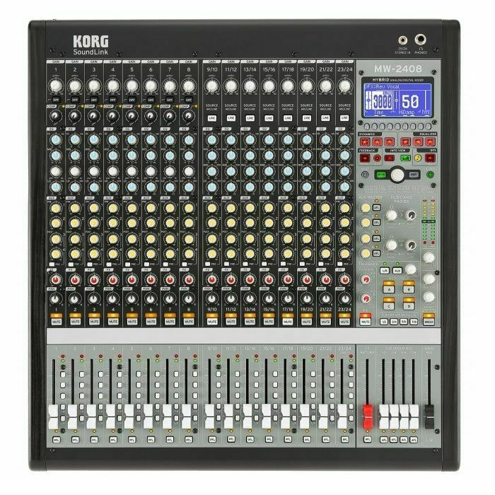 KORG - Korg SoundLink MW2408 Hybrid Analogue & Digital Mixer