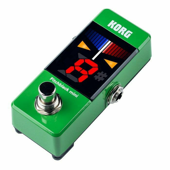 KORG - Korg Pitchblack Mini Tuner Pedal (green)