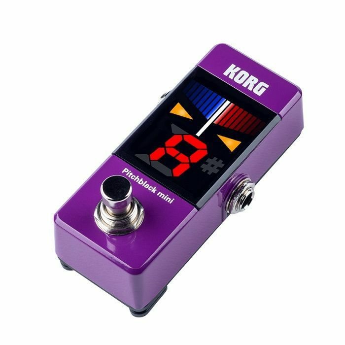 KORG - Korg Pitchblack Mini Tuner Pedal (purple)